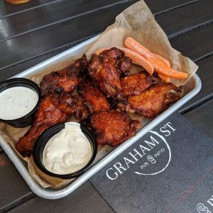 wings at graham street pub in charlotte nc